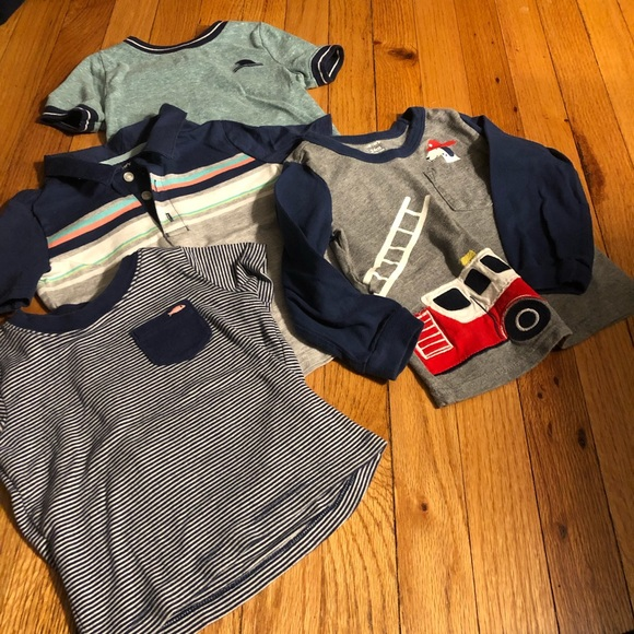 Carter's Other - 💰Set of four 24 months shirts